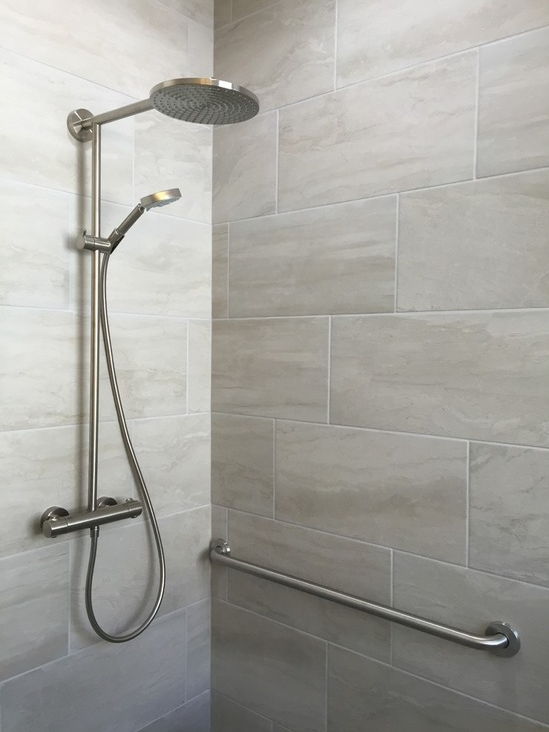 Transitional Bathroom, Gainesville VA